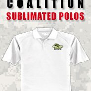 ABA Coalition Sublimated Polos
