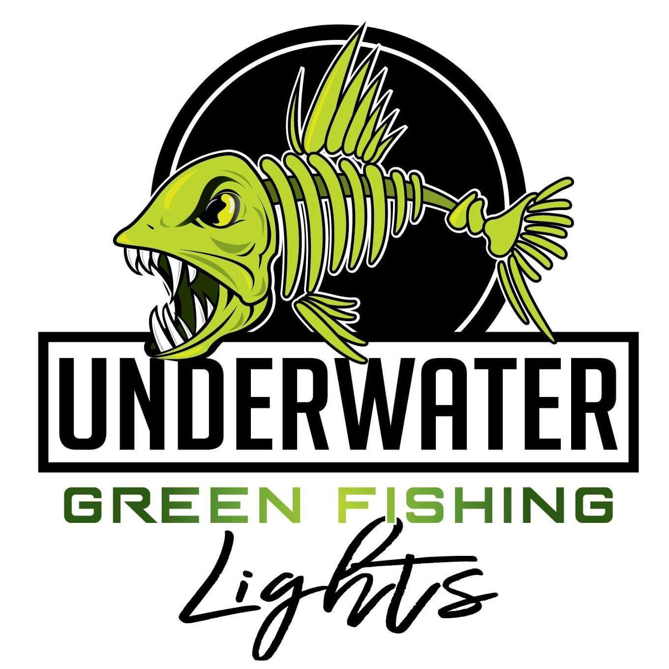 Underwater Green Fishing Lights
