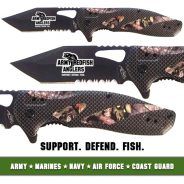 Army Redfish Anglers Knife